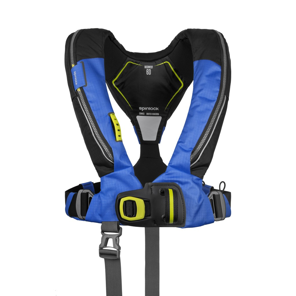 Deckvest 6D Pacific Blue