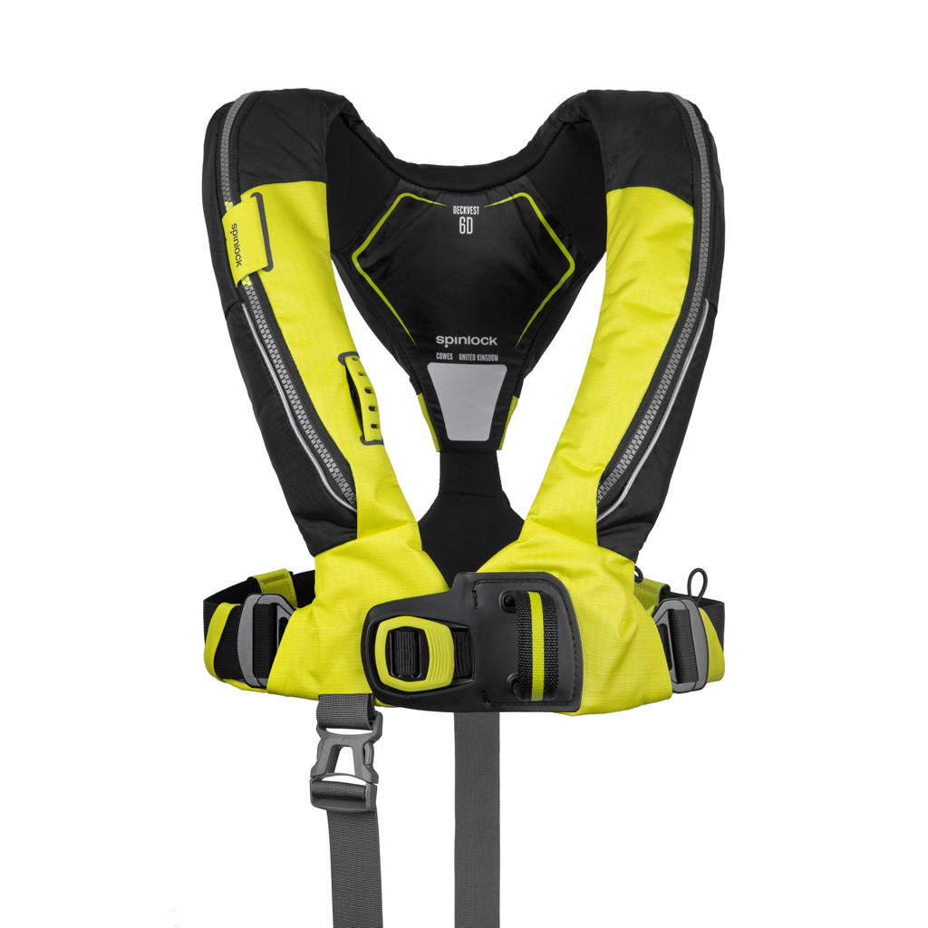 Deckvest 6D Citrus Yellow